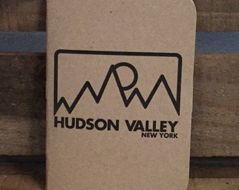 3 Pack Hudson Valley Mountain Kraft Pocket Notebook Journal 3.5x5
