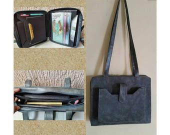 marbled grey Service Bag