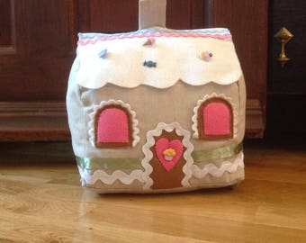 Gingerbread House Doorstop