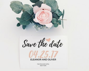 Save The Date Printable, Save The Date Cards, Rustic Save The Date, DIY Save The Date, Save The Date Template, Wedding Save The Date, PDF