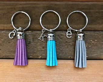 Personalized Keychain, Monogram Keychain, Initial Keychain, Gift for Her
