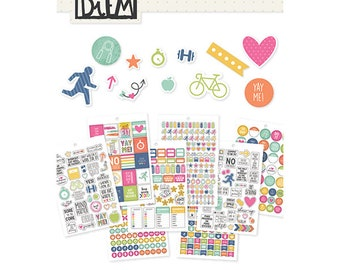 Fitness Stickers Tablet - Carpe Diem