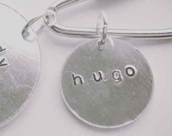 Additional tag to add to our double wrap bracelet or keyring