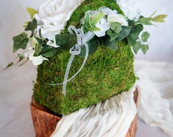 Moss Flower Girl Handbag