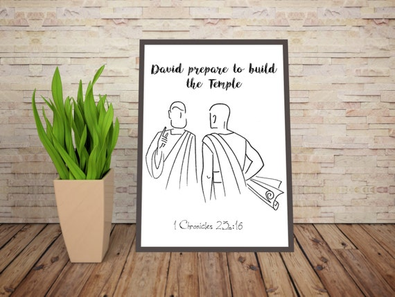 David Prepares to Build the Temple, David in the Bible, David, 1 Chronicles