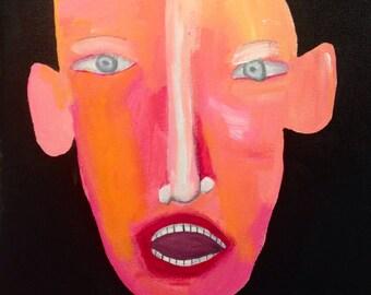 Original Expressionistic Painting
