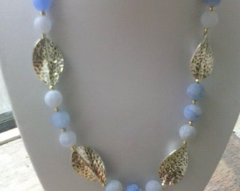 Irish handmade agate necklace