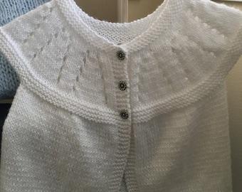 Toddler Sweater - White