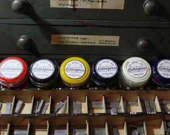 letterpress ink starters pack 30g x 6 (A)