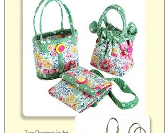 Aunties Two Patterns Mini Bags