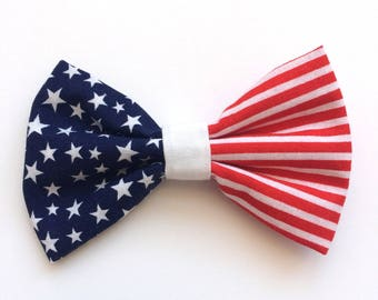 4th of July Patriotic Jumbo Bow