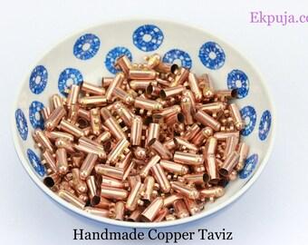 100% Copper Taveez Locket Handmade - Taweez / Taviz Locket copper Protection Wear Around Neck New With Black Thread