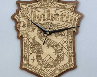 Harry Potter Clock / Slytherin Clock