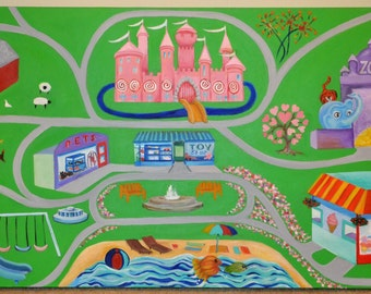 Pretty City Play Mat