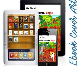 Custom Cover Design and Marketing Materials Bundle (E-Book and Printed)