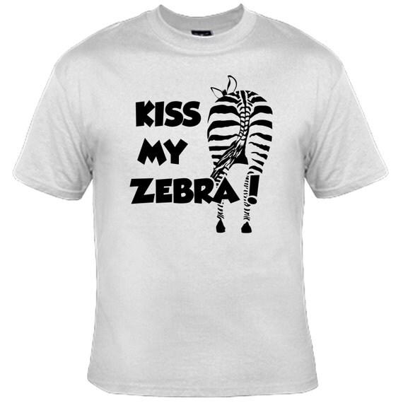 Kiss my Zebra T-Shirt