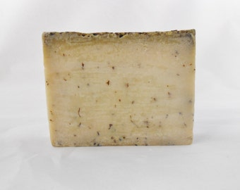 All Natural Soap-Shea Butter Mint & Hemp Oil-Artisanal Soap-SLS Free Pure Glycerin Vegan