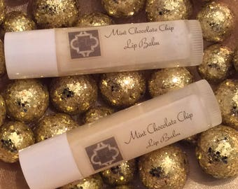Mint Chocolate Chip Lip Balm
