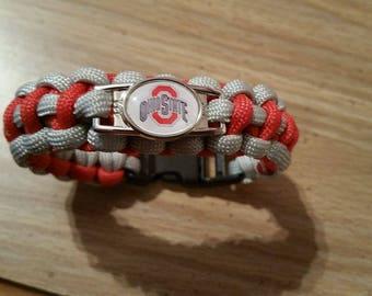 Ohio State bracelet