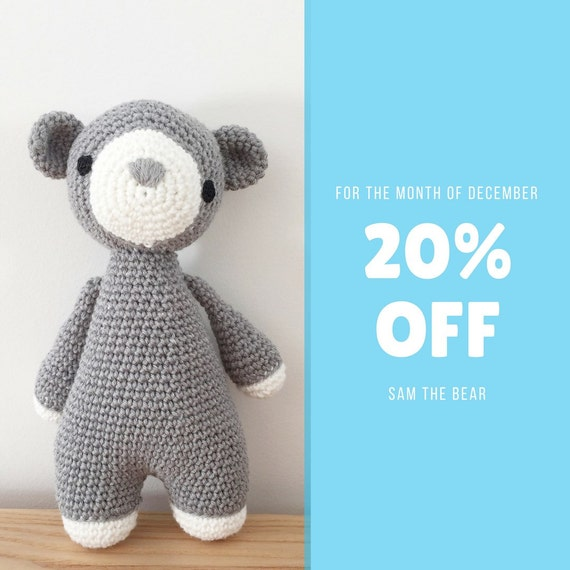 Amigurumi Baby Bear : Amigurumi Amigurumi Bear Baby and toddler toy by ...
