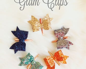 Glam Clips - Glitter Bow