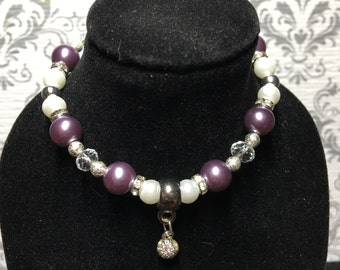 Purple diamond ball