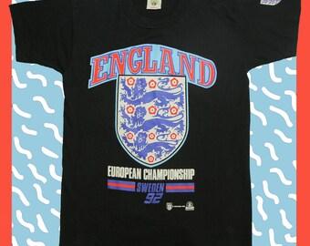 Vintage Kick Sportswear European Football T-shirt 90's M