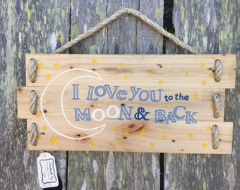 Handmade Reclaimed Wood Wall Art Wood Sign