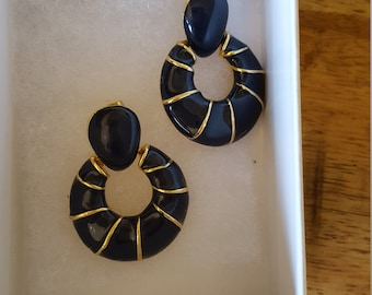 Reclaimed Recycled clip on earrings to pierced earrings