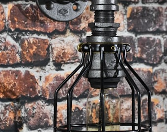 Industrial/Steampunk Style Wall Sconce