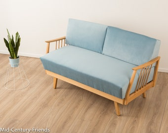 50s sofa, couch, 50s, vintage (606038)