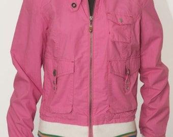 Tommy Hilfiger jacket-size M-pink Cotton Fuchsia.