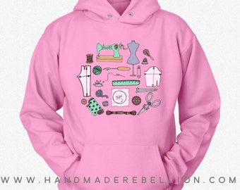 Sewing Circle - Womens Shirt, Hoodie, Sweatshirt
