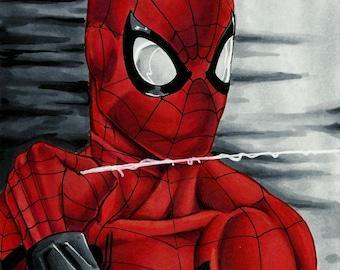 Spiderman Homecoming 5x7 print