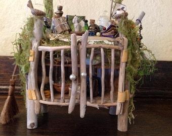 OOAK Fairy cabinet