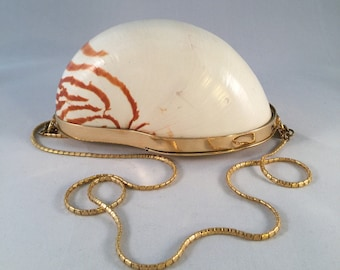 Judith Leiber Nautilus Shell Party Purse