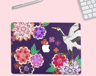 Floral Goose MacBook Pro Case, mac book case, MacBook Pro case, Macbook Pro 13 Case, Macbook Case, macbook air case, MacBook Air hard case