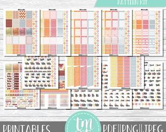 Pattern Kit Set 06 Arrows    Printable Planner Stickers    Bullet Journal    Digital Files    Blackout Files    Over 1200 Stickers