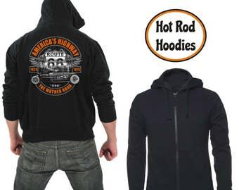 Zipper hoodie Route 66