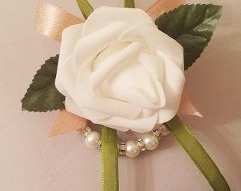 Wrist Corsage/ Quinceaneras / Weddings/ Proms