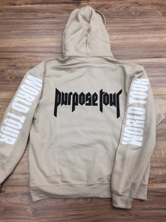 purpose world tour hoodie justin bieber hoodie by threadup360. Black Bedroom Furniture Sets. Home Design Ideas