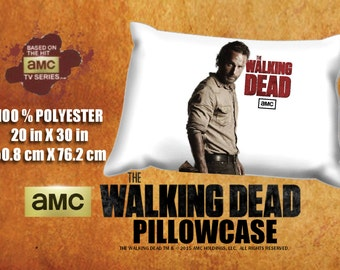 The Walking Dead Rick Grimes Andrew Lincoln Pillowcase