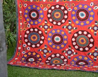 Uzbek Suzani vintage handmade