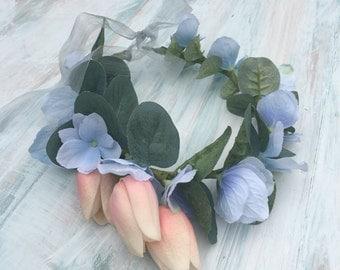 Handmade flower crown by maralandmoss - Arabella Crown
