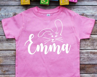 Easter toddler shirt, bunny shirt, Easter shirt, Easter Bunny, kids Easter shirt, girl Easter shirt, Easter infant shirt, Personalized shirt