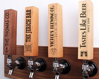 Personalized laser engraved tap handle, beer tap handle, Custom Tap Handle, Microbrew Beer Gifts,Gift for beer lover, beer lover gift