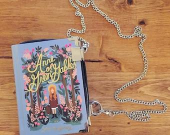 Book Purse / Clutch / Bag / Crossbody / Handmade / Anne of Green Gables