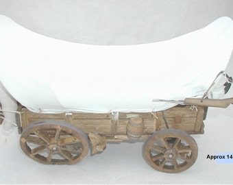 Decorative Old West Covered Wagon
