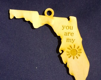 State of Florida you are my sunshine ornament