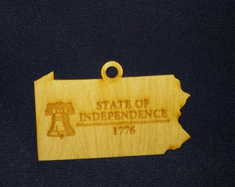 Pennsylvania State of Independence ornament